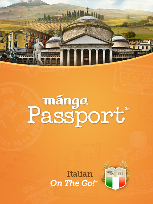 Title details for Italian On The Go by Mango Languages - Wait list