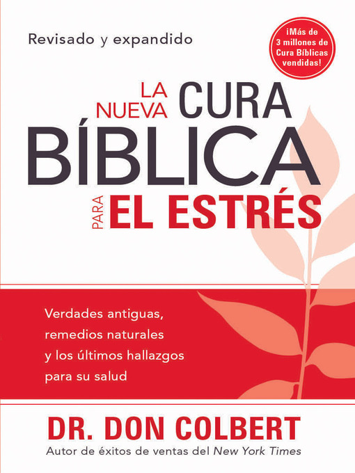 Title details for La Nueva cura bíblica para el estrés by Don Colbert - Available