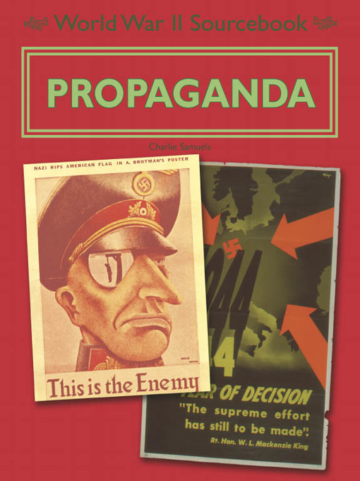 Title details for Propaganda by Charlie Samuels - Wait list
