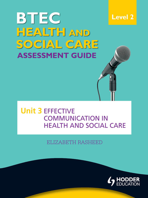 health and social care level 3 unit hsc 024