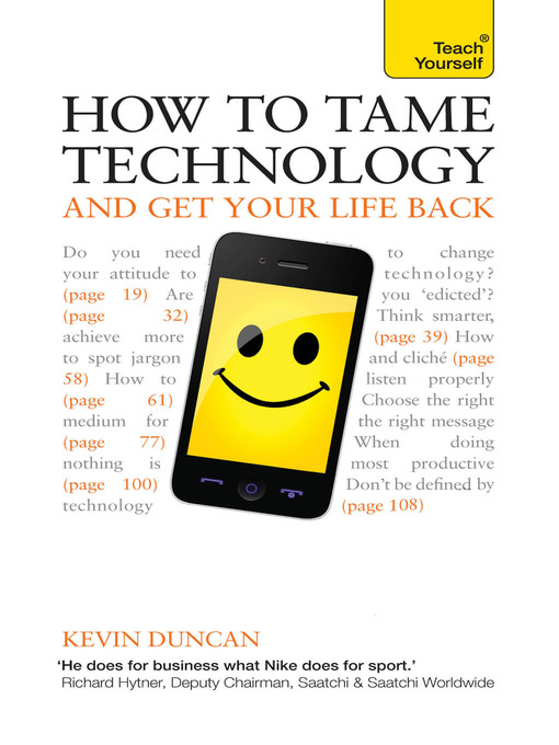 Cover of How to Tame Technology and Get Your Life Back