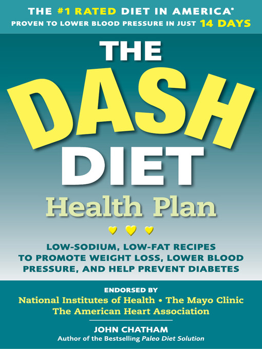Cover of The DASH Diet Health Plan