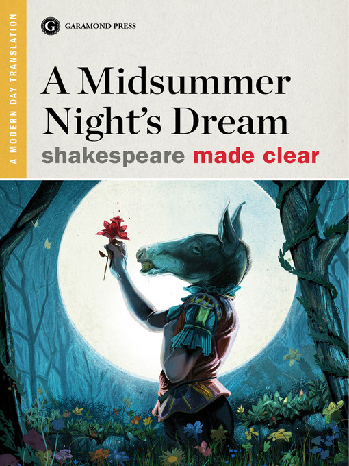 a literary analyis of characters in a midsummer nights dream by william shakespeare Hamlet study guide contains a biography of william shakespeare, literature essays, a complete e-text, quiz questions, major themes, characters, and a.