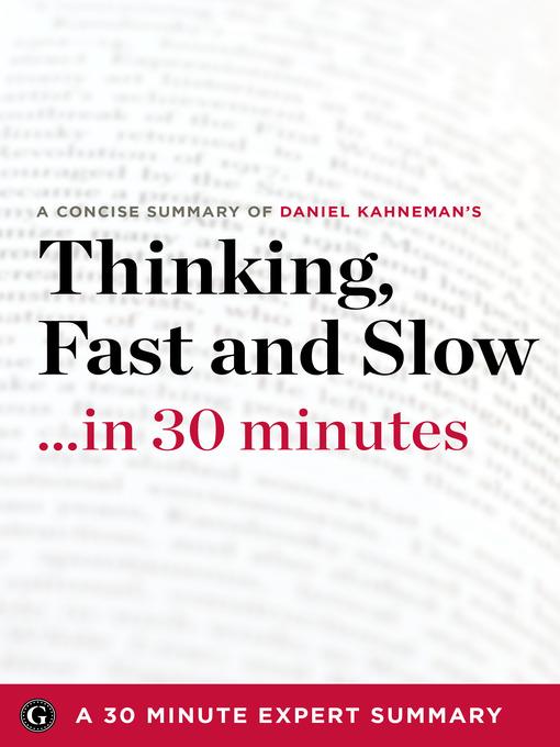 Thinking Fast And Slow Daniel Kahneman Epub
