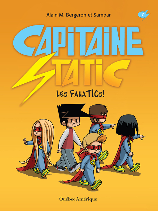 Cover of Capitaine Static 7--Les FanaTICs!