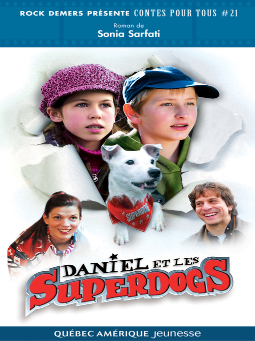 Title details for Daniel et les Superdogs by Sonia Sarfati - Available