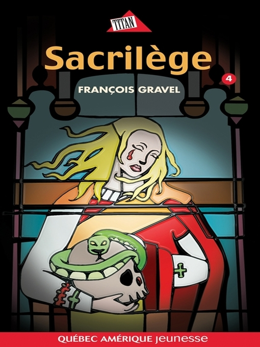 Cover of Sauvage 04--Sacrilège