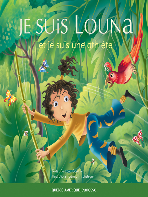 Cover of Louna 03--Je suis Louna et je suis une athlète