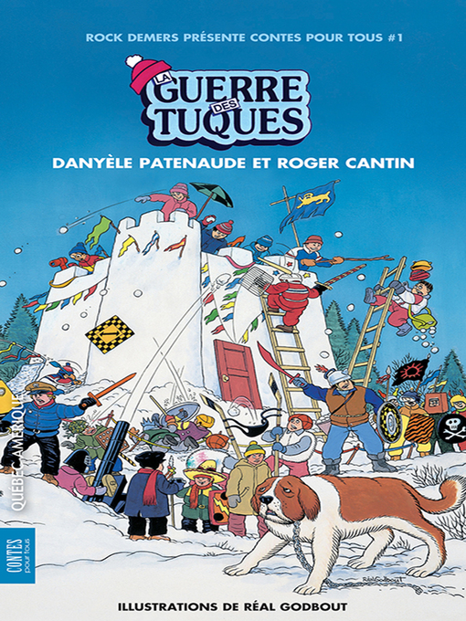 Title details for La Guerre des tuques by Roger Cantin - Wait list