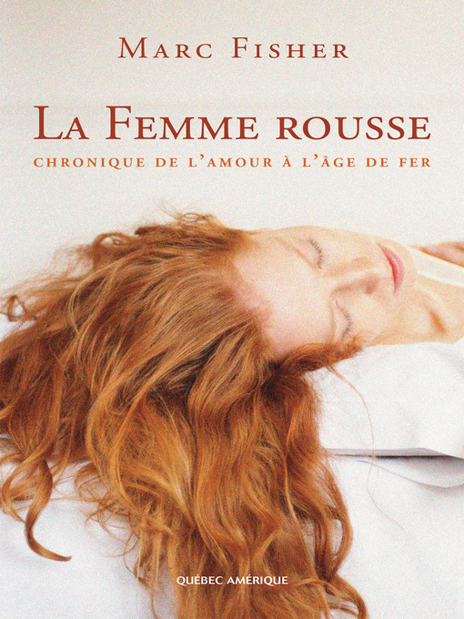 Title details for La Femme rousse by Marc Fisher - Available