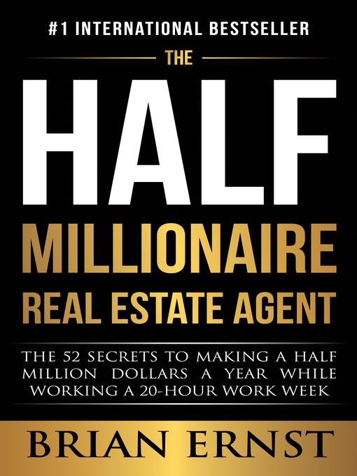 Title details for The Half Millionaire Real Estate Agent by Brian Ernst - Wait list