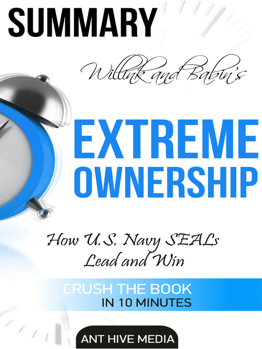 Cover of Jocko Willink and Leif Babin's Extreme Ownership