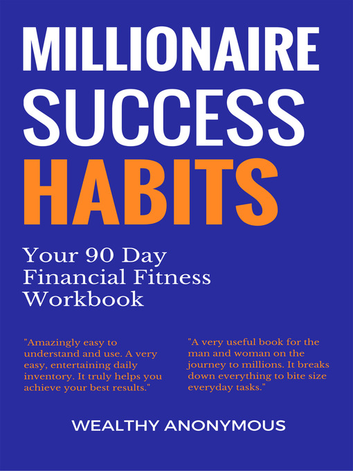 Title details for Millionaire Success Habits by Wealthy Anonymous - Available