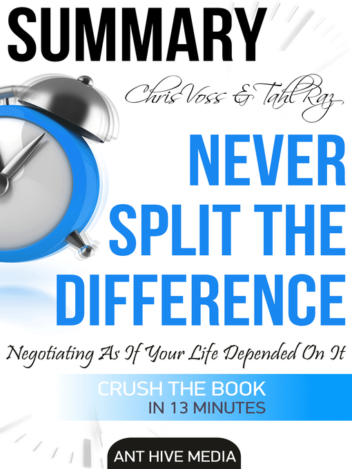 chris voss never split the difference torrent ebook