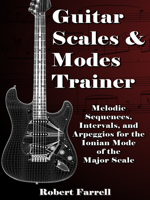 Cover of Guitar Scales and Modes Trainer