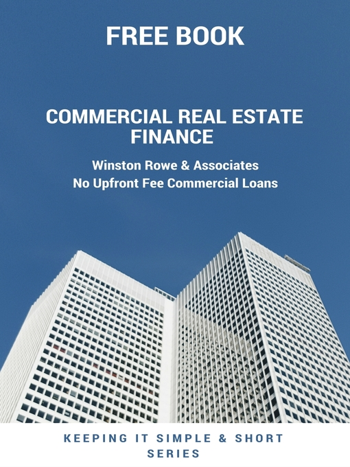 Title details for Commercial Real Estate Finance by Winston Rowe - Available