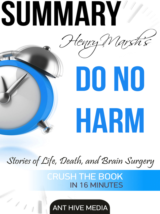 Title details for Henry Marsh's Do No Harm by Ant Hive Media - Available