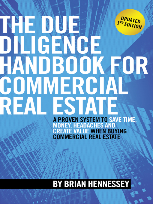 Title details for The Due Diligence Handbook For Commercial Real Estate by Brian Hennessey - Wait list