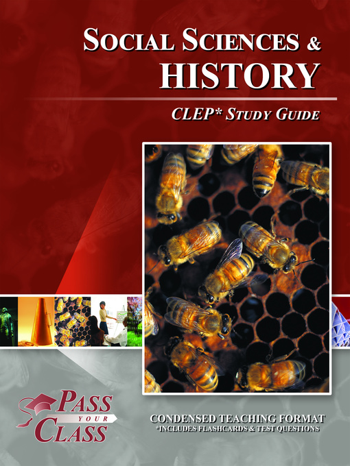 Cover of CLEP Social Sciences and History Test Study Guide
