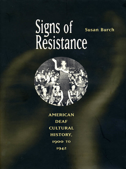 Title details for Signs of Resistance by Susan Burch - Available