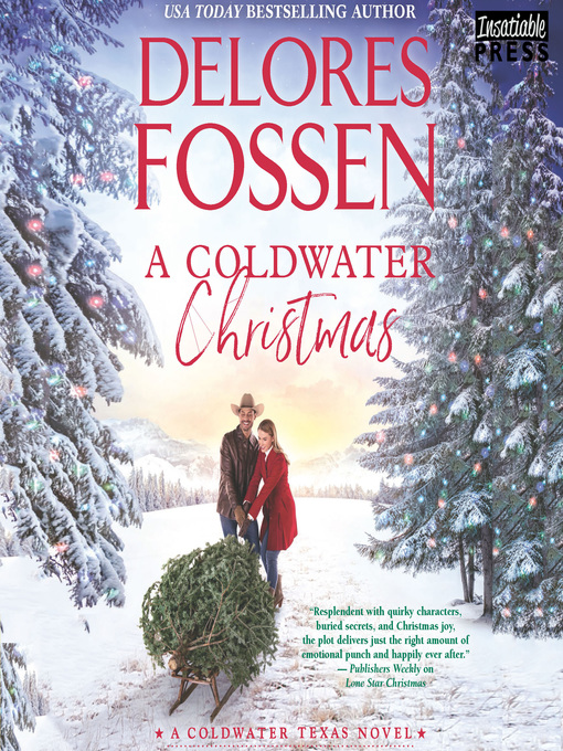 Title details for A Coldwater Christmas by Delores Fossen - Wait list
