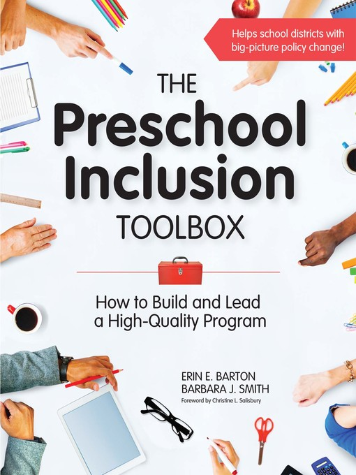 Title details for The Preschool Inclusion Toolbox by Erin E. Barton - Available