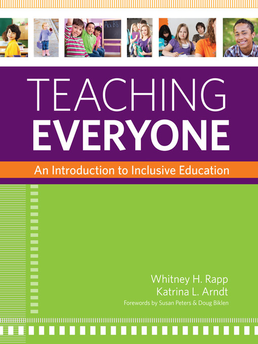 Title details for Teaching Everyone by Whitney H. Rapp - Wait list