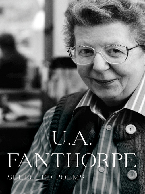 u a fanthorpe s not my best side Fanthorpe studied at st anne's college, oxford (ba, 1953 ma, 1956) she published her first volume of poetry, side effects, in 1978 her collections issued by the small publisher peterloo poets received widespread recognition.