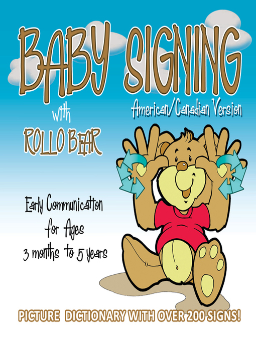 Cover of Baby Signing with Rollo Bear