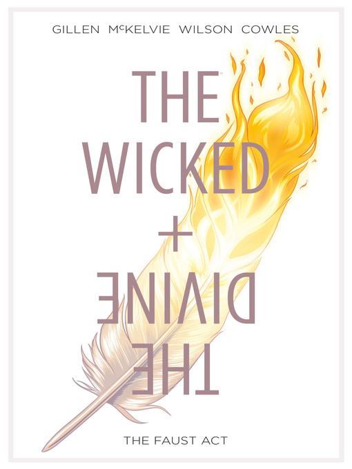 Title details for The Wicked + The Divine (2014), Volume 1 by Kieron Gillen - Wait list