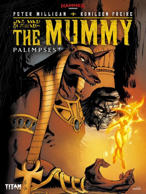 Cover image for The Mummy: Palimpsest (2016), Issue 1