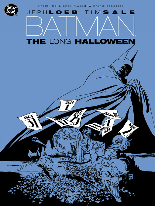 Cover of Batman: The Long Halloween