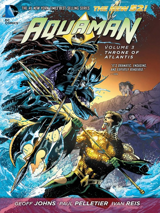 Title details for Aquaman, Volume 3 by Geoff Johns - Available