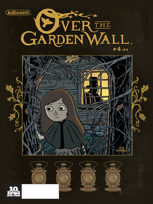 Cover of Over The Garden Wall, Issue 4