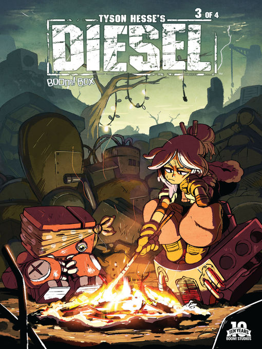 Cover of Tyson Hesse's Diesel, Issue 3