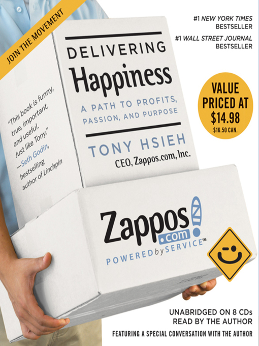 Title details for Delivering Happiness by Tony Hsieh - Available
