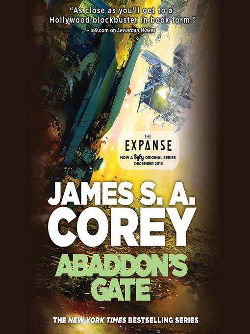 Title details for Abaddon's Gate by James S. A. Corey - Wait list