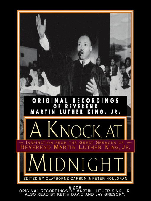 Title details for A Knock at Midnight by Clayborne Carson - Available