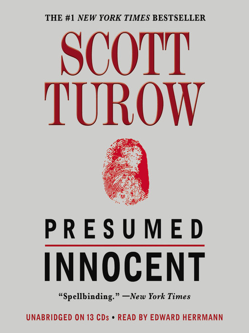 Title details for Presumed Innocent by Scott Turow - Available