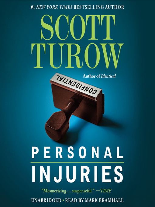 Title details for Personal Injuries by Scott Turow - Available
