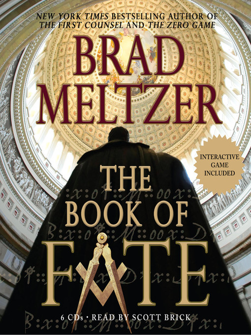 Title details for The Book of Fate by Brad Meltzer - Wait list
