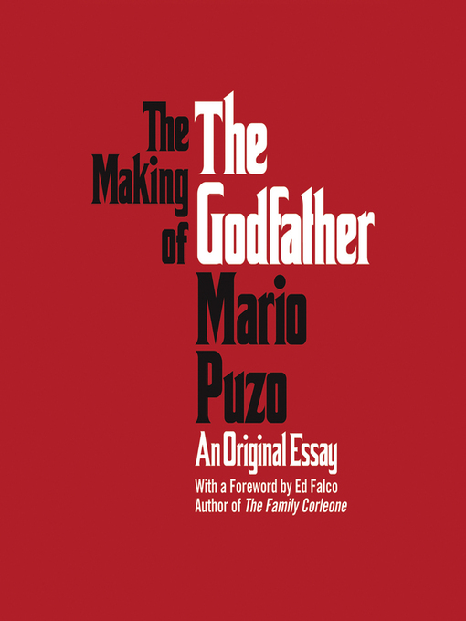 the godfather mario puzo essay