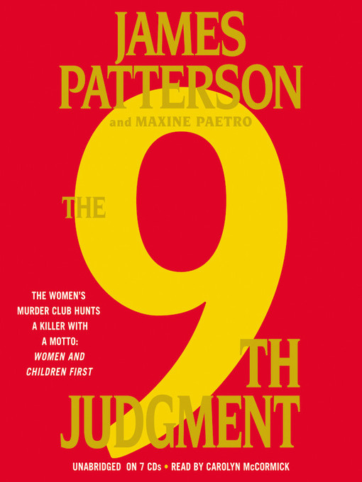 Title details for The 9th Judgment by James Patterson - Available