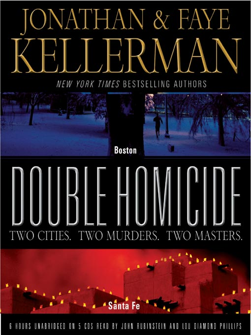 Title details for Double Homicide by Jonathan Kellerman - Wait list