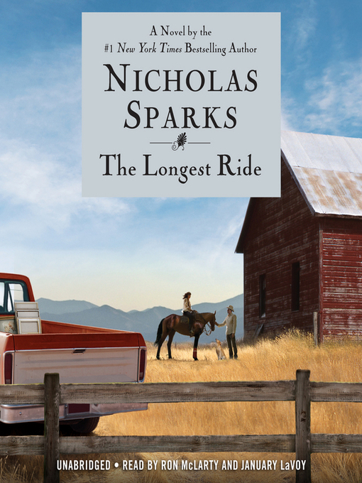 Title details for The Longest Ride by Nicholas Sparks - Wait list