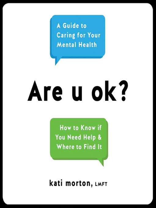 Title details for Are u ok? by Kati Morton - Available