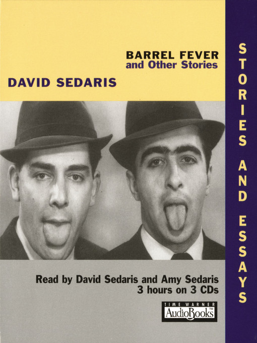Title details for Barrel Fever and Other Stories by David Sedaris - Wait list