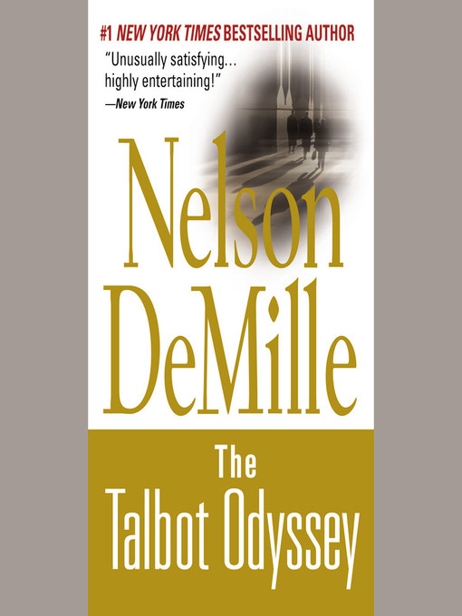 Title details for The Talbot Odyssey by Nelson DeMille - Wait list