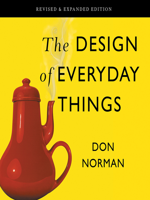 Title details for The Design of Everyday Things by Don Norman - Available