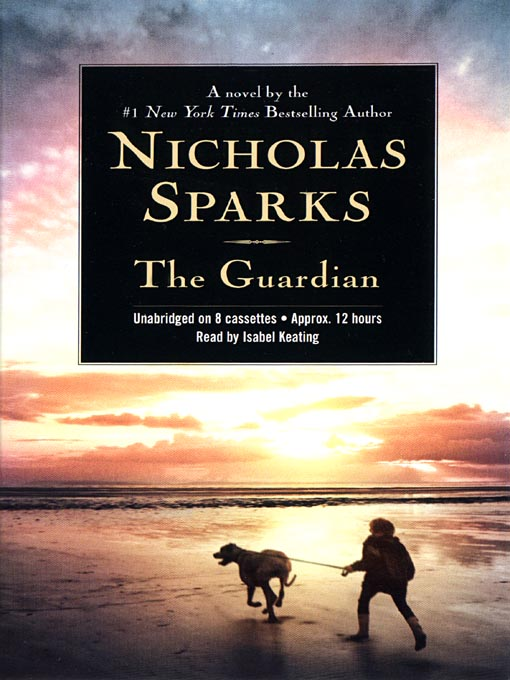Title details for The Guardian by Nicholas Sparks - Wait list